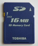 Digital storage card